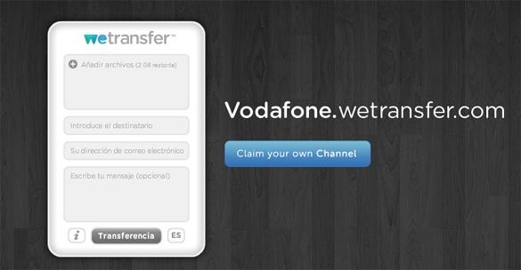 Transfiere archivos gratis de hasta 2Gb con Wetransfer