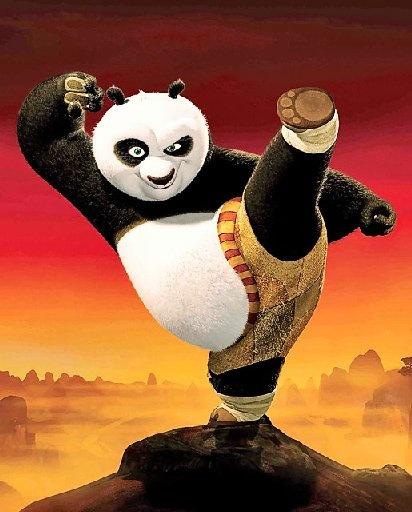 """Kung Fu Panda- """" I'm not a big fat panda. I'm THE big fat panda."""""""