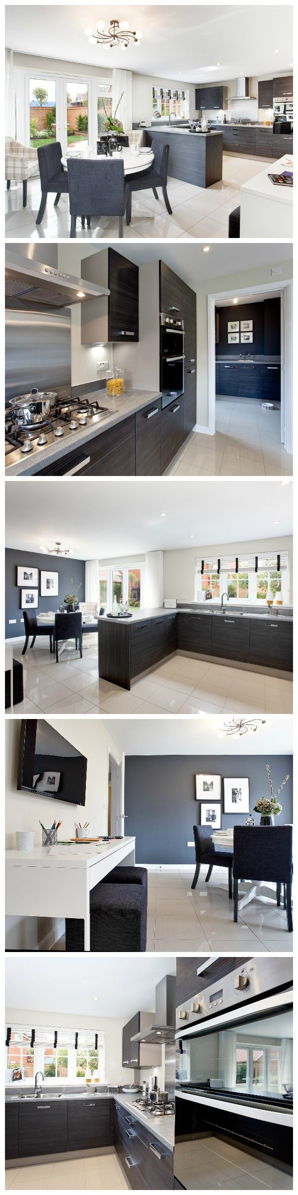Kitchen collage | The Arundel at The Ashes in Takeley | Bovis Homes
