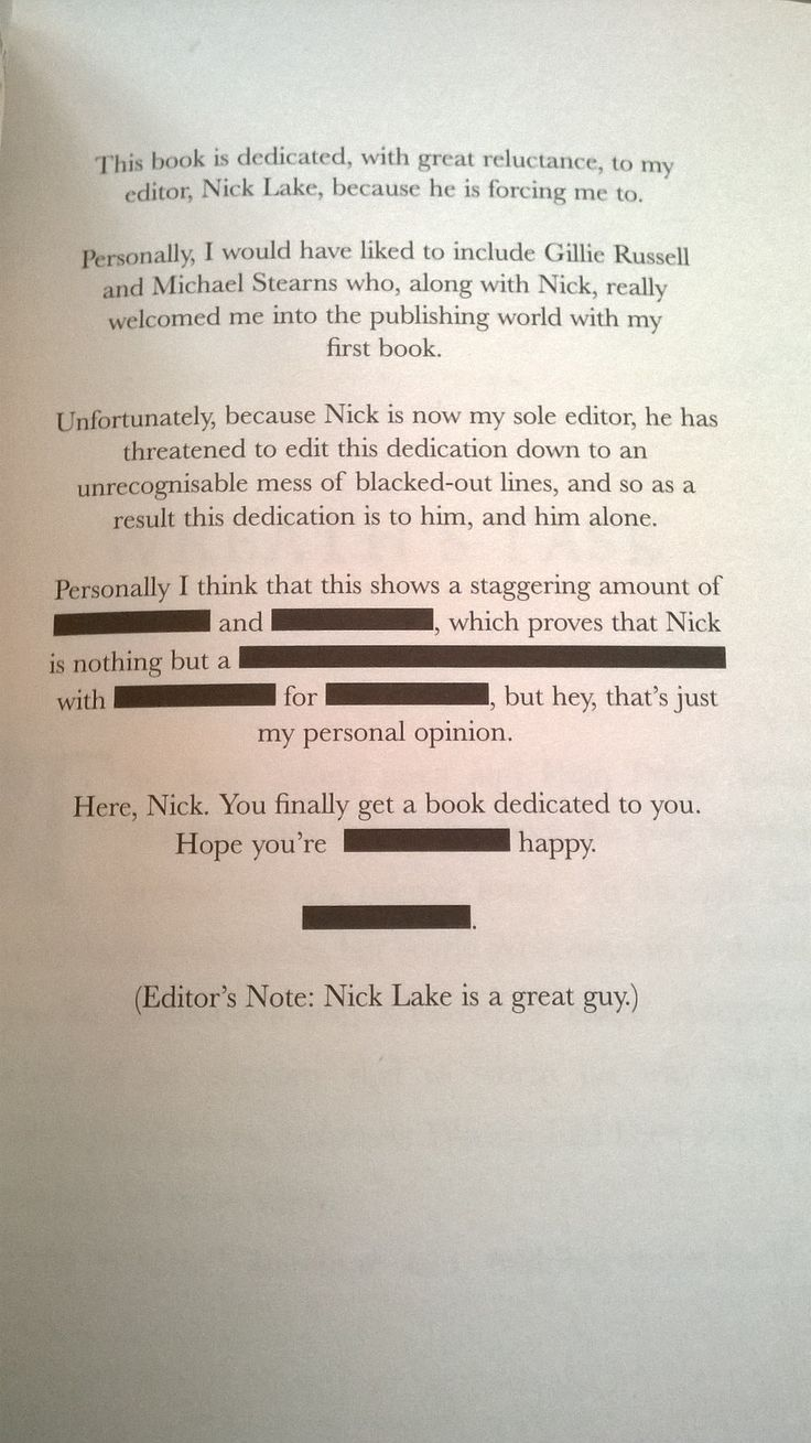 Skulduggery Pleasant book dedications…