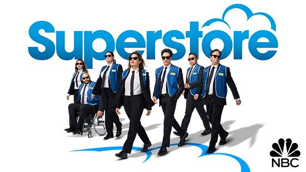 Superstore (NBC-September 28, 2017) a comedy series that revolves around a group of employees at a big-box store, it examines love, friendship, and the beauty of everyday moments. Created by Justin Spitzer. Stars: America Ferrera, Ben Feldman, Lauren Ash, Colton Dunn, Nico Santos, Nichole Bloom, Mark McKinney.