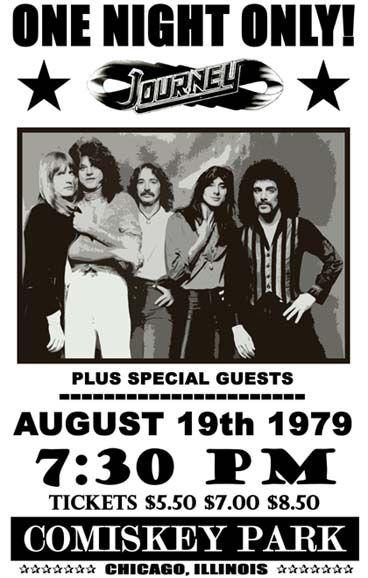 Journey Concert Poster https://www.facebook.com/FromTheWaybackMachine