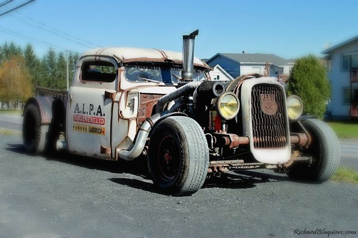 Quelques photos du A.L.P.A. « Rat-Rod »