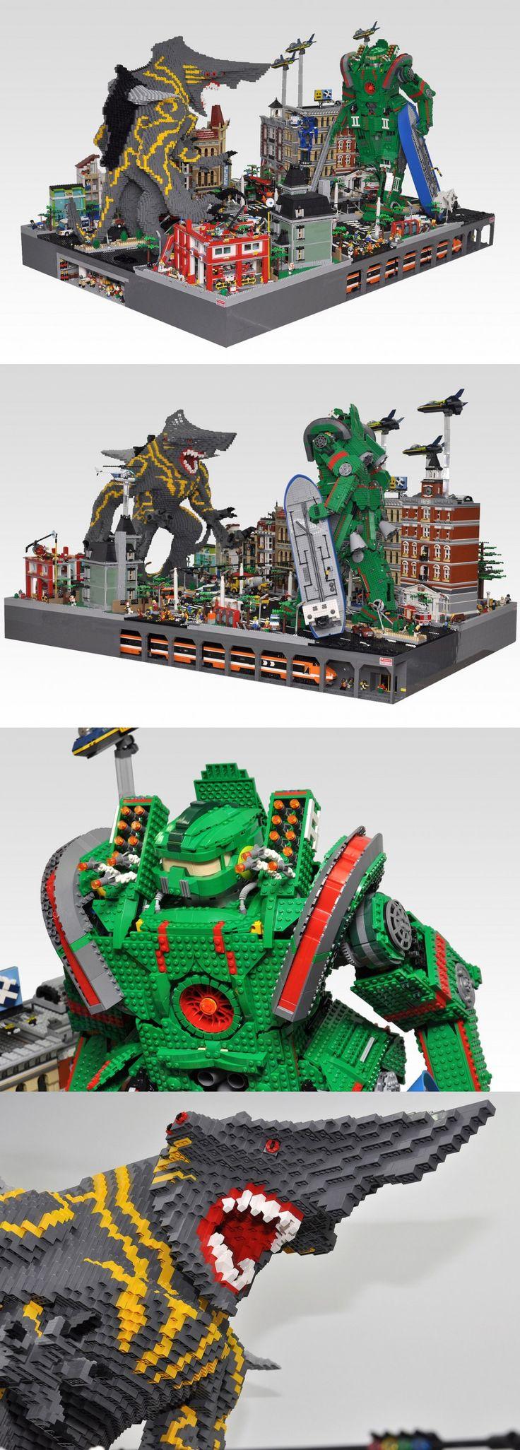LEGO Pacific Rim by Olive Seon