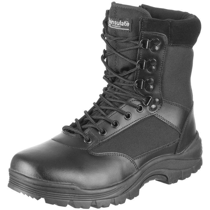 Para Oggz6r5we Zapatos Militar Estilo Miltec Hombre Negros fSwxqICTx1