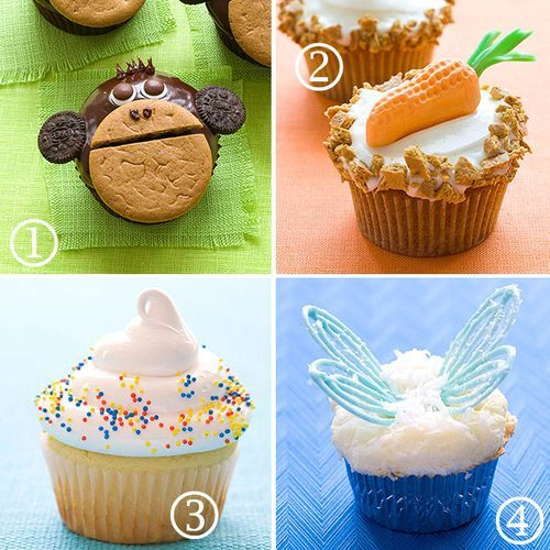 Baby Friendly Cup Cake Decoration