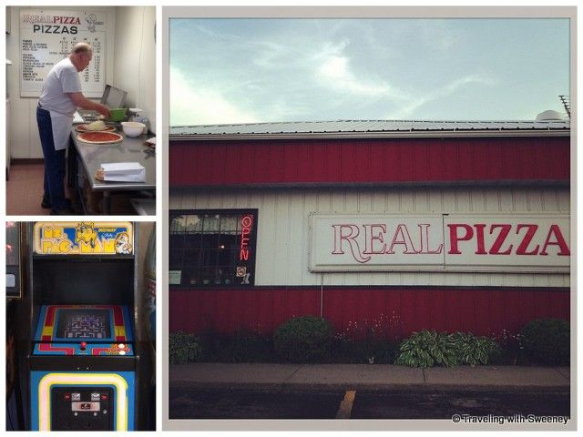 """""""Real Pizza in Marinette, Wisconsin"""""""