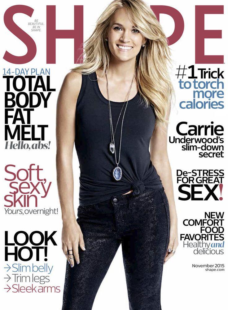 Carrie Underwood Shape Magazine | November 2015 | POPSUGAR Fitness