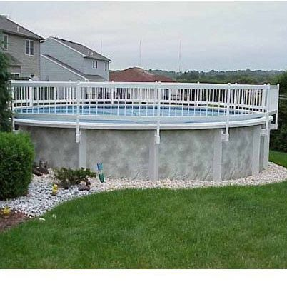 above ground pool privacy fence ideas - Above Ground Pool Privacy Fence Ideas