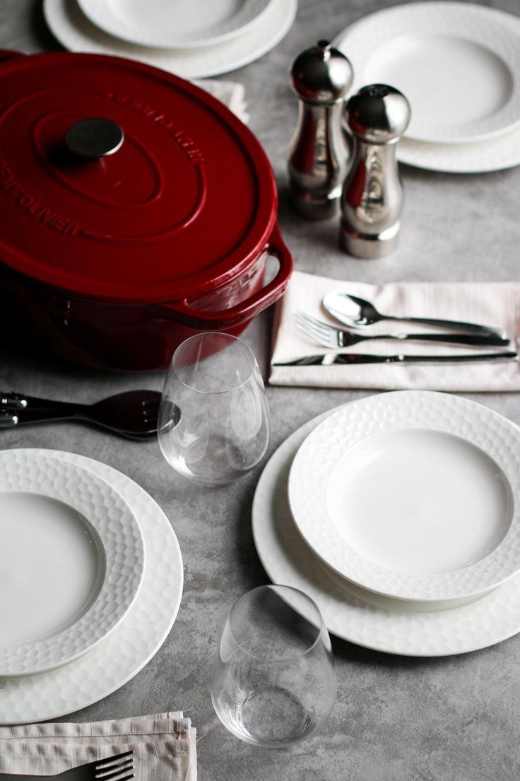 The Remy Olivier Cast Iron Oval Casserole is perfect for cooking, serving, and gathering in style–just ask Unsweetened Caroline.