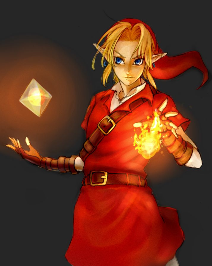Din's Fire #OoT #pixiv