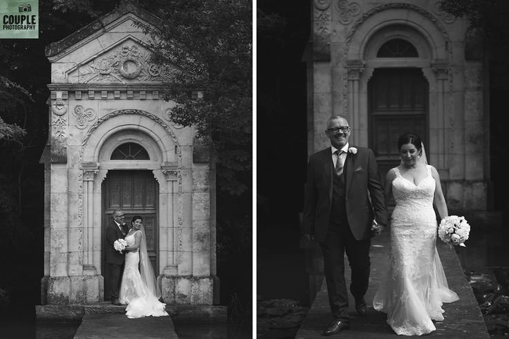 the pretty chapel at Cliff at Lyons. Wedding by Couple Photography https://www.couple.ie