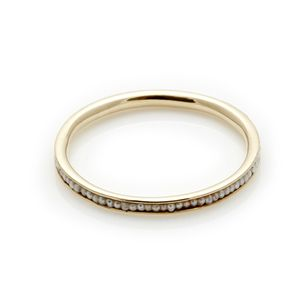 Petite Pearl Ring // Yellow Gold