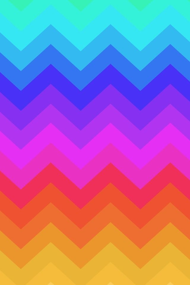 Cute Zig Zag Wallpapers Rainbow Chevrons Or You Can Call It Zig Zags ⇝iphone