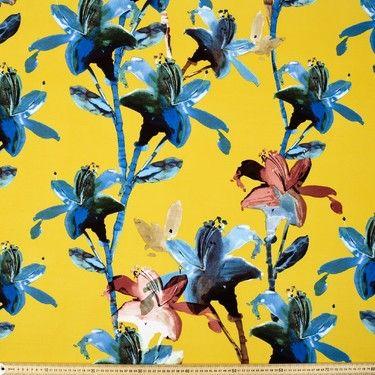 Printed Floral Rayon Knit