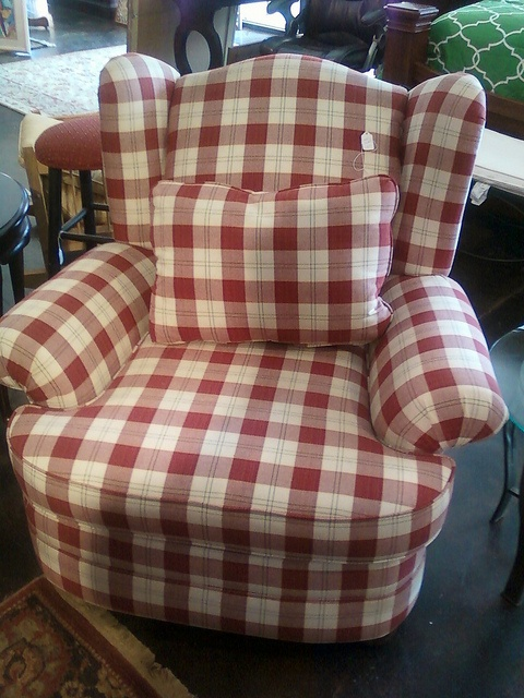 75 Best Plaid Images On Pinterest Armchairs Gingham