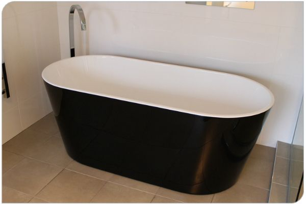 Freestanding Bath Amy black