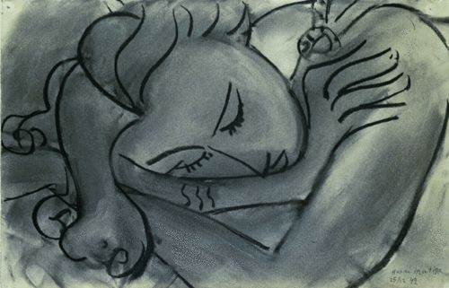 #iamlabradorite Sleeping Woman Henri Matisse