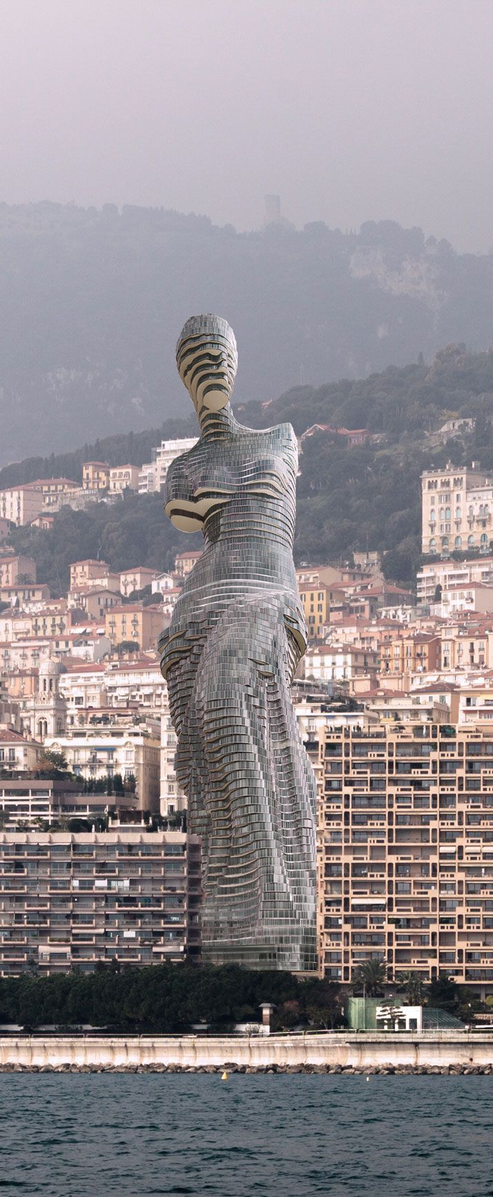 The Aphrodite of Mil charisma design. The crazy Russian tycoon skyscraper designed in the shape of Victory of Samothrace.