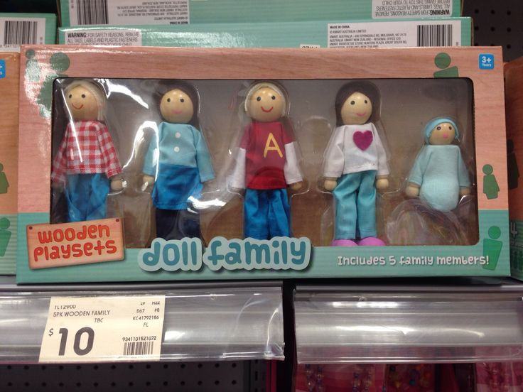 Doll family Kmart $10