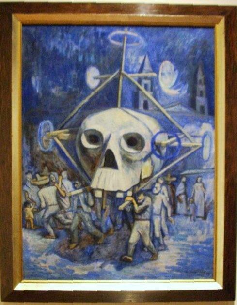 Día de muertos, 1947.  Raúl Anguiano.  Museo de Arte Moderno, INBA