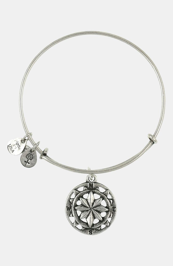 Currently Wearing This Alex And Ani Silver 'compass'