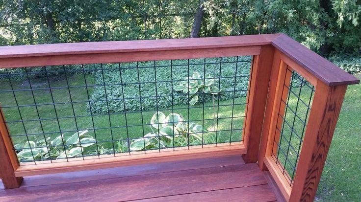 Gallery - Wild Hog Railing | Deck railings, Diy deck, Wire ...