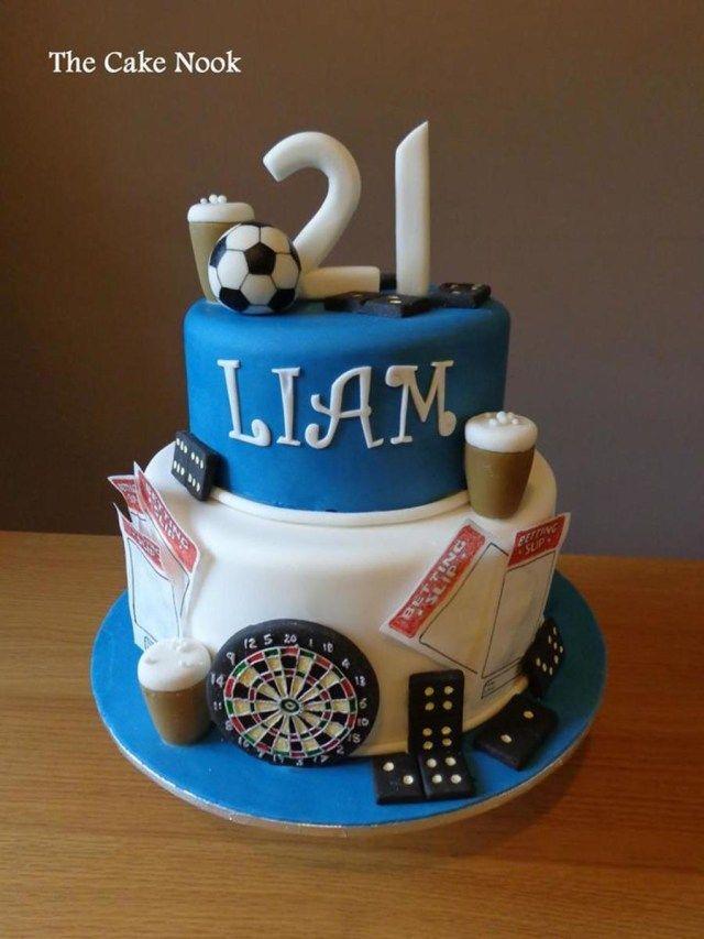 10 21st birthday cake for guys ideas | 21st birthday cake