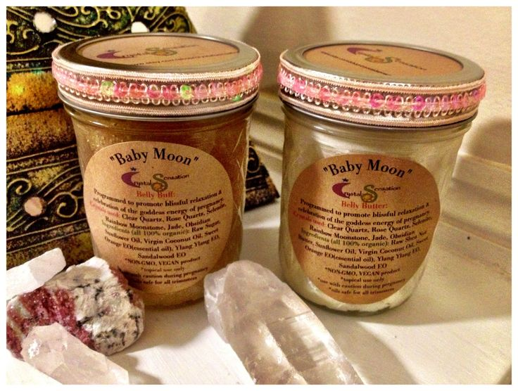 Baby Moon Belly Buff & Belly Butter Gift Set / Crystal Elixir Lotion Body Scrub Cream/ Organic Pregnancy Spa Package Blissful Goddess Energy by CrystalSensation on Etsy https://www.etsy.com/listing/178085324/baby-moon-belly-buff-belly-butter-gift
