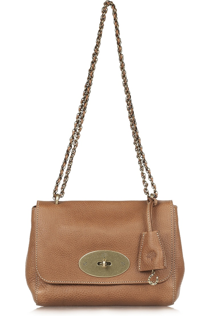 MulberryLily leather shoulder bag  I want this so bad!!!
