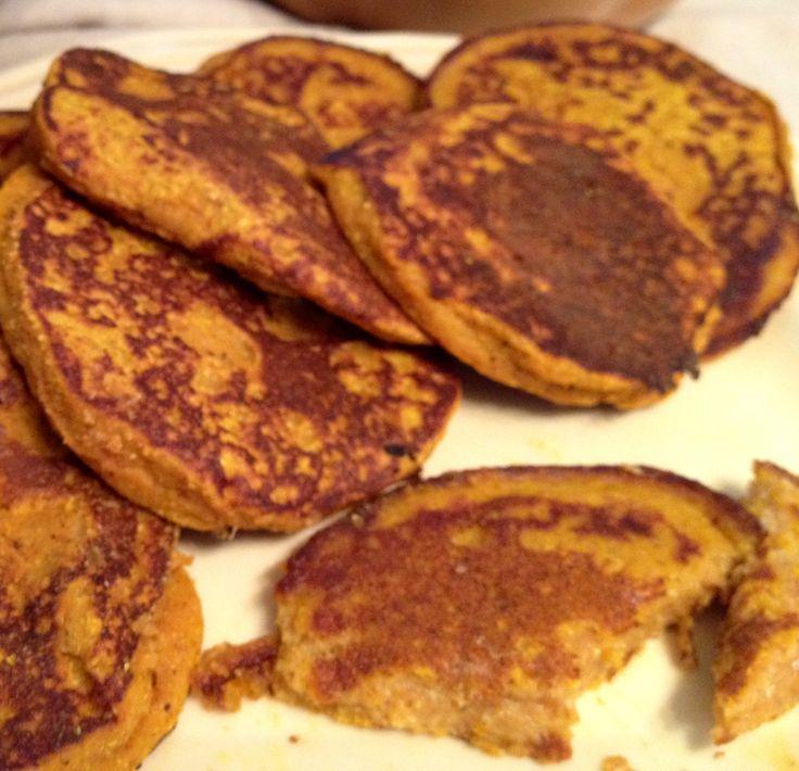 Paleo pumpkin fritters