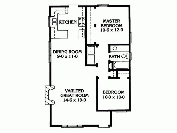 591 best house plans images on pinterest home plans for Expanded ranch floor plan