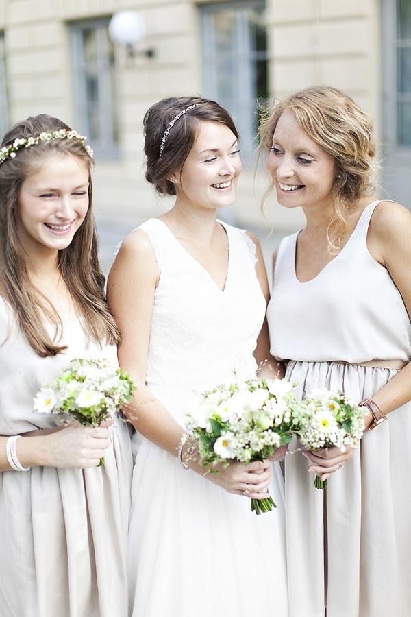 Cute bridesmaids, modern, trendy look