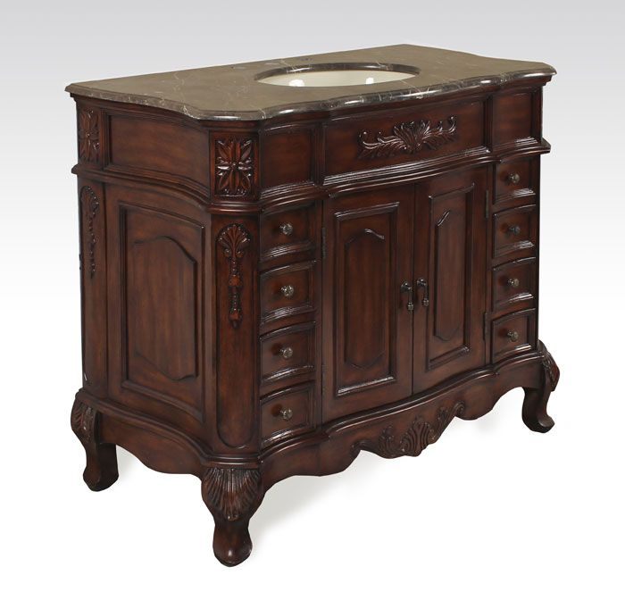 42 inch Antique Bathroom Vanity BX8268151AB