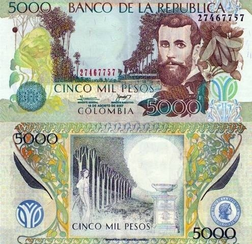 Dinero de Colombia
