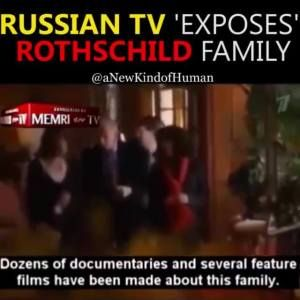 Russian TV exposes the Rothchild family You Wont See This On TV #news #alternativenews