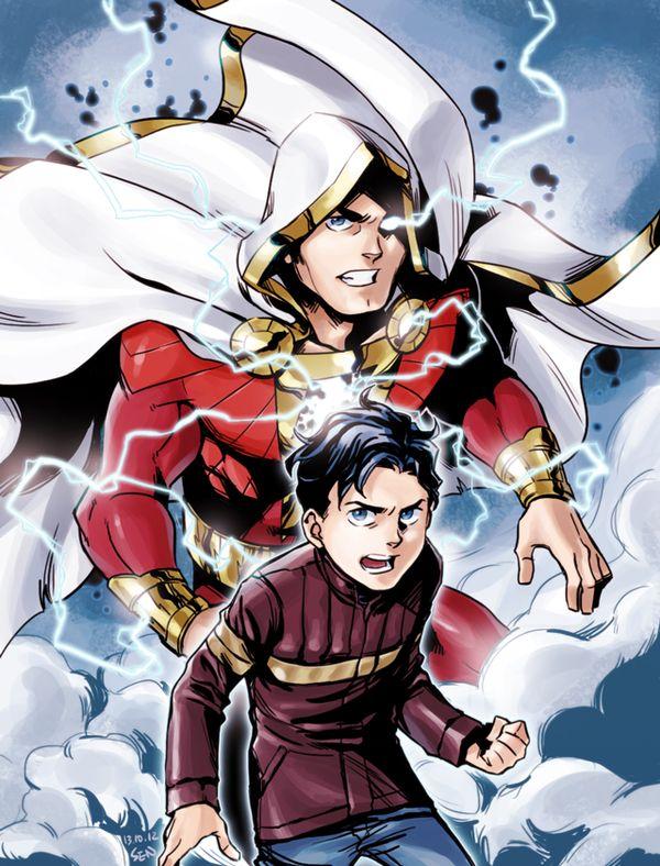 Captain Marvel Shazam New 52