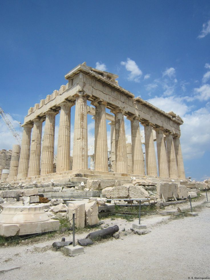 The mighty columned Parthenon is the most recognizable monument of The Acropolis of Athens. For more information visit http://www.guiddoo.com/