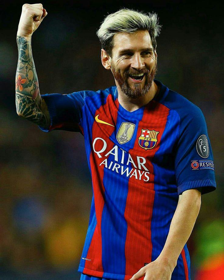- Describe el hat-trick de Messi con un emoji... #UCL