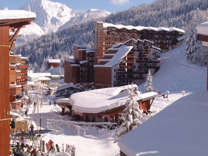 La tania - Skiing - part of the three valleys in France. Built for the 1992 Olympics. Skied that!