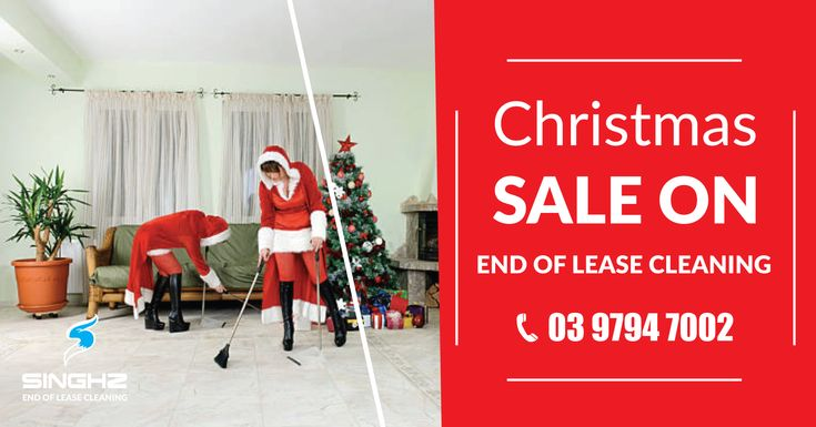 Singhz Cleaning offering you 25% off on End of lease cleaning. This offer ending 31st December. Call Now 03 9794 7002 #BondCleaning #ChristmasCleaning #LeaseCleaning