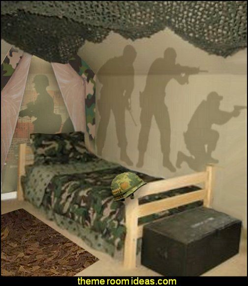 17 best ideas about military bedroom on pinterest boys for Camo kids bedroom ideas