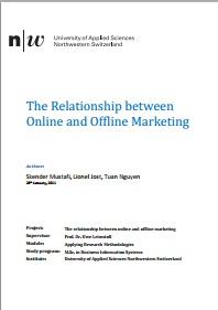 The Relationship between Online and Offline Marketing – Skender Mustafi & All The-Relationship-between-Online-and-Offline-Marketing – Fjala Ime