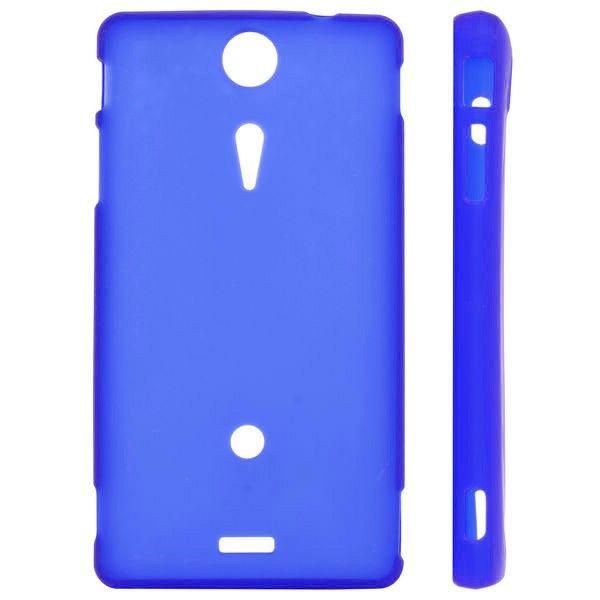 Frosty Shell (Blå) Sony Xperia TX Deksel
