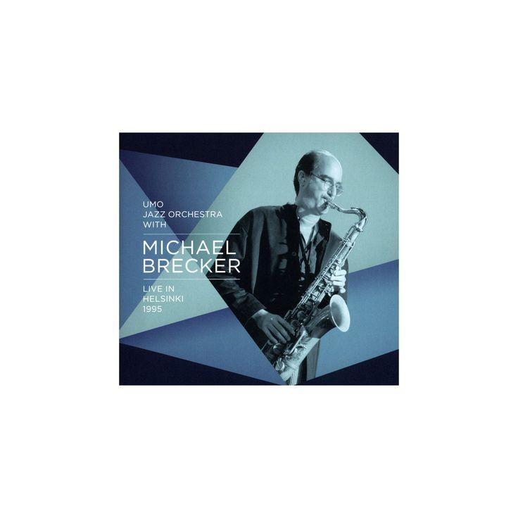 Michael brecker - Live in helsinki 1995:Michael brecker (CD)