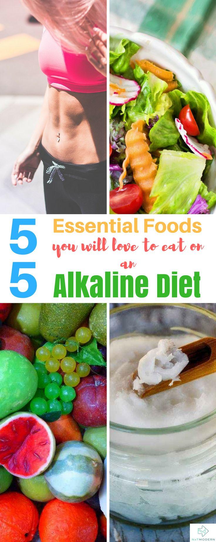 Essential Foods To Eat On an Alkaline Diet #alkalinediet