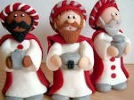 Tutoriel pâte fimo personnages Crèche de Noël ! - par nafeuse