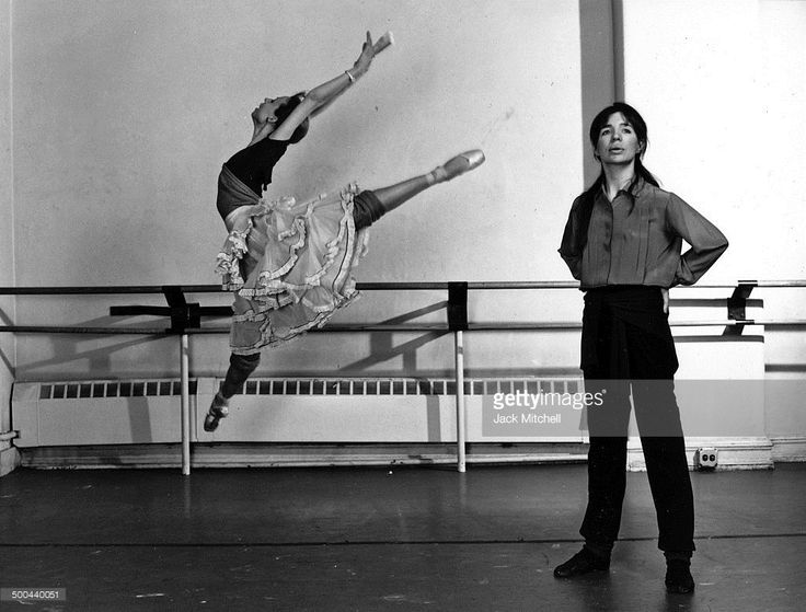 Gelsey Kirkland and Jacques D'Amboise in New York City Ballet's 'Firebird' in 1970.