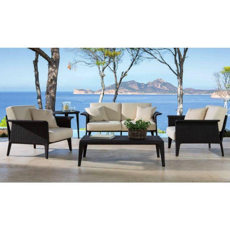 Lounge sofa rattan  Die besten 10+ Gartenlounge rattan Ideen auf Pinterest ...