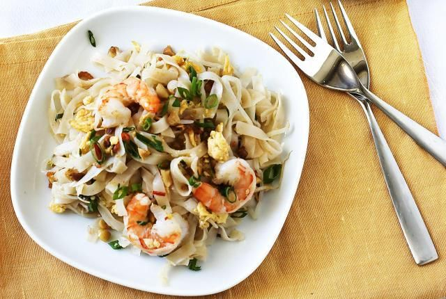 A Delicious Chef-Inspired Shrimp Pad
